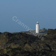 Photographic Blank Greetings Card / Notecards Own Message Landscape Lighthouse