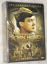 Adventures Of Robin Hood: The Complete Series (Richard Greene) - DVD Box Set