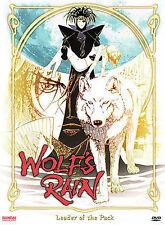 Wolf's Rain Leader of the Pack DVD 2004 BANDAI Japanese Animation Region 1 NEW