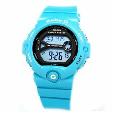 Casio Black Baby-G Ladies Digital Sport Blue Watch BG-6903-2D BG-6903-3D
