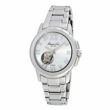 Kenneth Cole New York Ladies Analog Casual Silver Watch KC10020861 KC10020860