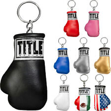 Title Boxing Authentic Detailed Mini Lace Up Glove Key Ring