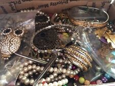 HUGE VINTAGE TO NOW JEWELRY ESTATE FIND LOT UNTESTED UNSEARCHED C22