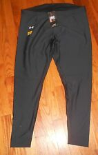 Nwt Mens Under Armour Black Compression Cold Gear Base Layer Pants Big 3XL $50