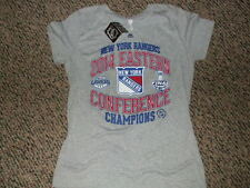 New York Rangers Womans T-Shirt 2014 Eastern Conference Champions Large NWT