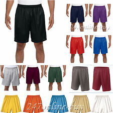 A4 Mens 7 Inch Inseam Mesh Short Basketball Gym Running Shorts XS-4XL N5293