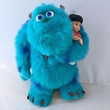 """Disney - Pixar Monsters, Inc. 15"""" Soft Talking Sulley With Boo Plush Stuffed Toy"""