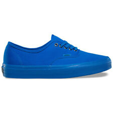 """Vans """"Primary Mono Authentic"""" Sneakers (Imperial Blue/Silver) Mens Skating Shoes"""