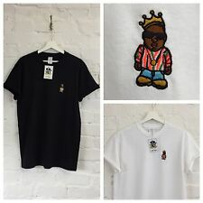 Actual Fact Biggie Coogi Cartoon Embroidered Hip Hop Supreme Tee T-Shirt