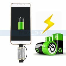 Universal Micro USB Phone Charger Multi-function Battery Charging Keychain