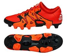 Adidas Men Cleats X 15.2 HG Soccer Football Sports Orange Shoes Boots B26990