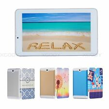 Tablet PC 7'' Android4.4 KitKat Dual Core 8GB Kids 2SIM 3G Phone Call WiFi gift