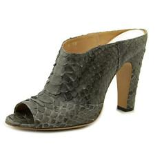 Maison Martin Margiela Python Women  Peep-Toe Leather Green Bootie