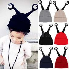 Cute Soft WarmBaby Kids Infant Toddler Crochet Knit Beanie Hats Cap