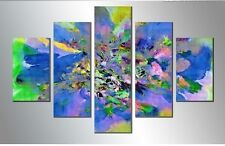 Free Shipping Wall Art 5 Panels Painting Abstract Wall Art Painting On Canvas Fo