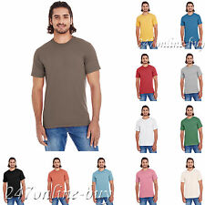 American Apparel Unisex Organic Short-Sleeve Fine Jersey T-Shirt - 2001OR