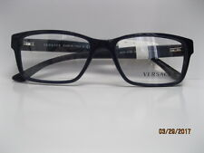 brand new versace eyeglass frames 3198 for men navy 100 authentic sz 5517