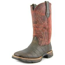 Durango Lady Rebel Women  Square Toe Leather Brown Western Boot