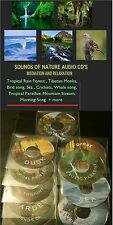 Exotic Paradise BIRDS  NATURE SOUNDS AUDIO CD  #Meditation #Relaxation FREE P&P