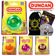 Duncan IMPERIAL Classic YoYo Ideal for KIDS and Beginners + 75 Tricks DVD + Bag