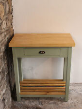 Crickhowell Butchers Block Kitchen Island Farmhouse Solid Wood