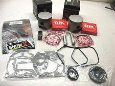 SNOW X New Skidoo 800 MXZ Summit 82mm Dual Ring Top End Rebuild Kit Pistons