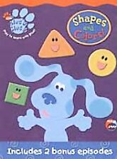 Blues Clues - Shapes and Colors (DVD, 2003, Checkpoint Security Tag)