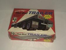 IMC Heavy Duty Flat-Bed Trailer vintage model kit SEALED