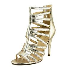 Nine West All Clearo   Open Toe Leather  Gladiator Sandal NWOB