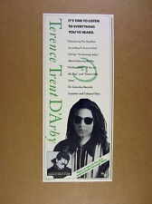 1988 Terence Trent D'Arby photo Introducing the Hardline album promo print Ad