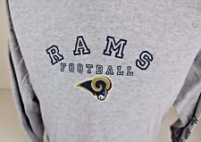ST. LOUIS RAMS NFL APPAREL RUSTY HEATHER GRAY LONG SLEEVE T-SHIRT SIZE LARGE L