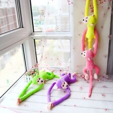 Animal Long Arm Tail Cute Monkey Plush Toy Doll Curtain Decoration 60cm Mascot