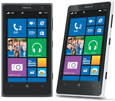 Nokia Lumia 1020 - 32GB - Black/White/Yellow Unlocked Smartphone RM-877 USA