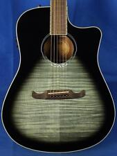 New! Fender T-Bucket 300CE Flame Maple Acoustic Electric Guitar -Moonlight Burst