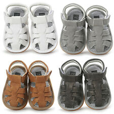 Newborn Baby Boys Sandals Shoe Casual Shoes Sneaker Anti-slip Soft Sole Toddler