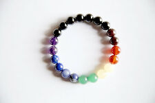 7 Chakras Bracelet ~ Gemstone Mix