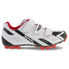 Spiuk Rocca MTB White-Black-Red Shoes