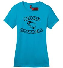 More Cowbell Funny Ladies Soft T Shirt Cute Saturday Night TV Show Tee Shirt Z4