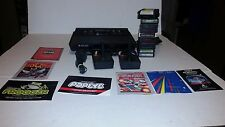 Atari 2600 Launch Edition Black Console ,W/ 11 games 2 controllers, Tested!!!!