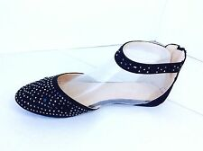 New women basic round toe  jeweled glitter angel  ballet flats  loafer shoes