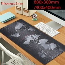 800x300/900x400mm 2mm World Map Speed Game Mouse Pad Mat Laptop Gaming Mouse pad