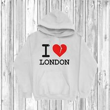 I Love London Hoodie S-2XL England UK United Kingdom Country Heart