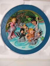 PETER PAN 3D Limited Edition PLATE Authentic Leader decorative w BOX collector