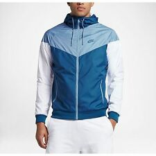 Nike Windrunner Men's Jacket Windbreaker  Blue/White 727325-460  A+