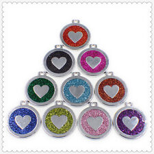 mixed heart Hang Pendant  Dangle Charms Jewelry for Necklaces bracelet strips
