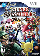 Super Smash Bros. Brawl (Nintendo Wii, 2008) with Case