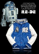 Marc Ecko Star Wars R2 D2 Protection Varsity Hooded Jacket R2D2 Hoody LIMITED