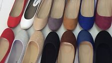 New women basic round toe  ballet flats slip on loafer shoes all colors