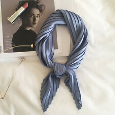 """2017 Women's Solid-Color Wrinkle Neckerchief Scarves Cute Fashion Small Scarf27"""""""
