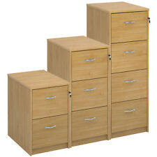 Oak Foolscap Filing Cabinet - 2/3/4 Drawer